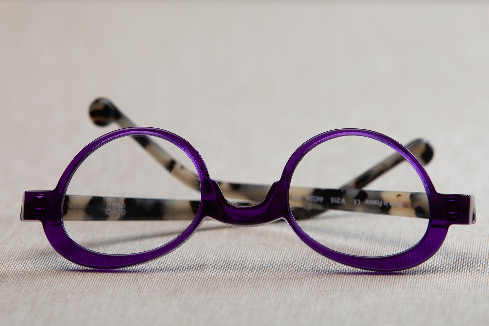 Photo de Monture violette